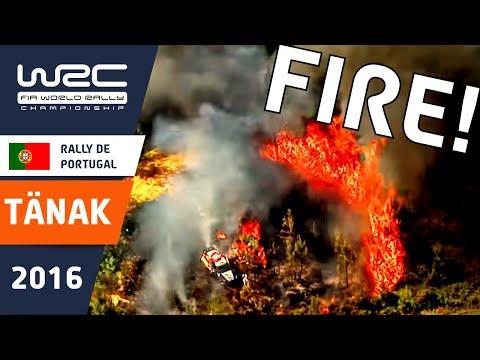 WRC - Vodafone Rally de Portugal 2016: CRASH Tänak & Paddon