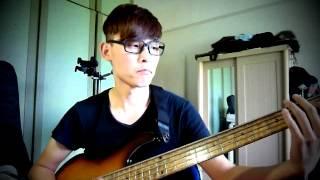 小虎隊- 青蘋果樂園 bass cover (大花)