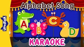 Alphabet Song | Sing-Alongs | Karaoke Version | Full HD | By Little Fox