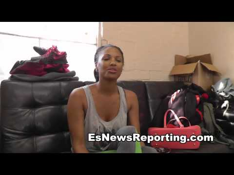 SEXY ACTRESS KD AUBERT on Danny Garcia Mike Epps Es
