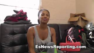 SEXY ACTRESS KD AUBERT on Danny Garcia Mike Epps EsNews