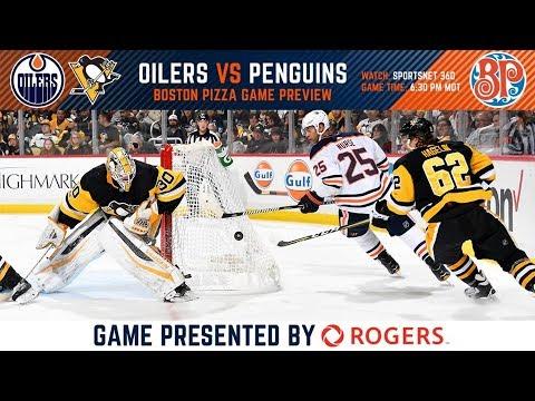 NHL 18 PS4. REGULAR SEASON 2017-2018: Pittsburgh PENGUINS VS Edmonton OILERS. 11.01.2017. (NBCSN) !