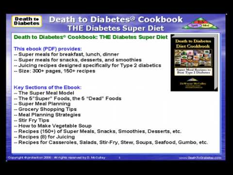 Diabetes Diet Ebook