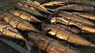 Рыба Горячего Копчения Ассорти к Новогоднему Столу С Наступающим Новым Годом Друзья 2020