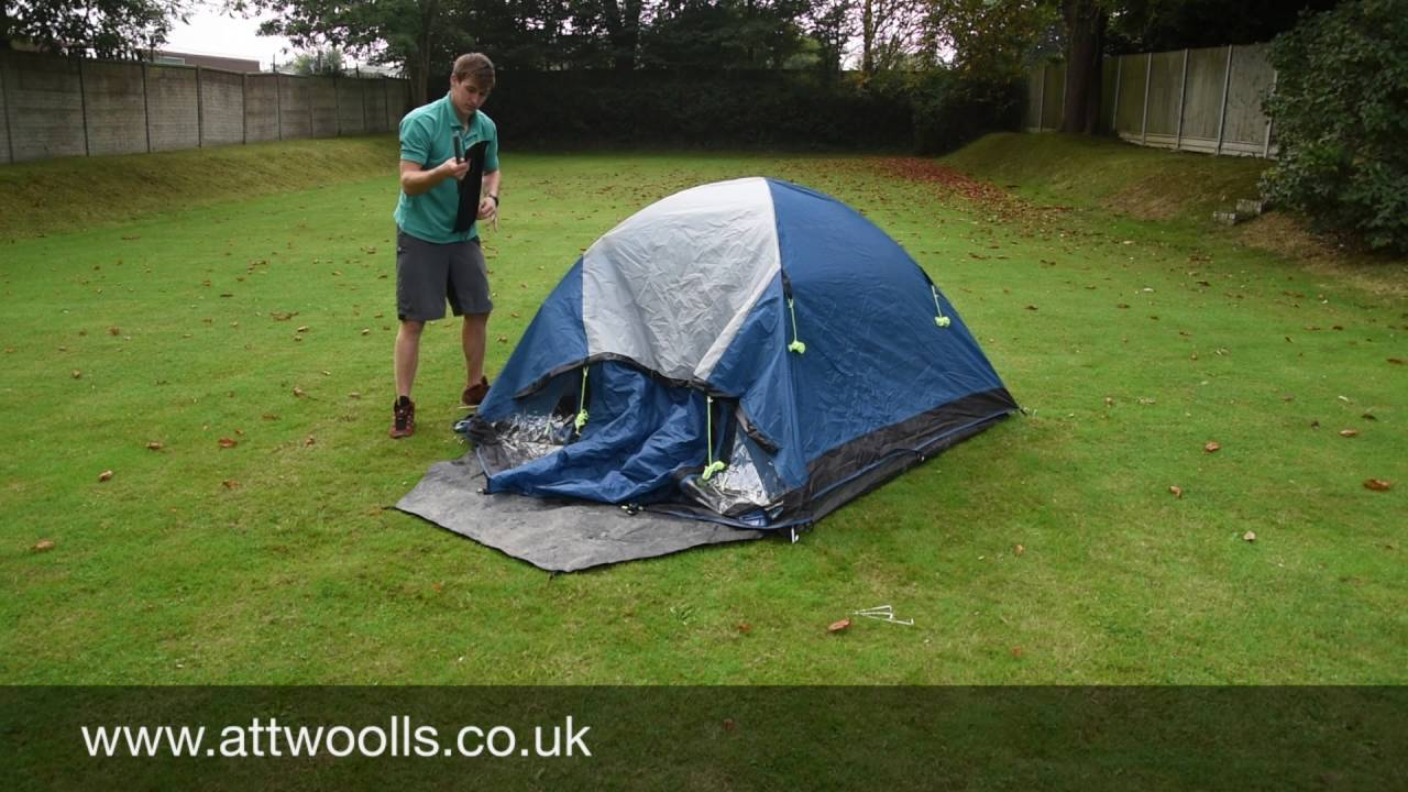 How to pack away a small Dome Tent (Tutorial Video) & How to pack away a small Dome Tent (Tutorial Video) - YouTube