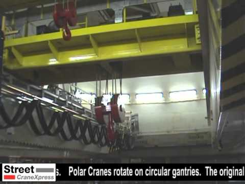 Winfrith Nuclear Power Station Decommissioning - Polar Crane refurbishment.m2v