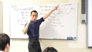 Simple Harmonic Motion Example Question (2 of 3: Solving for time)
