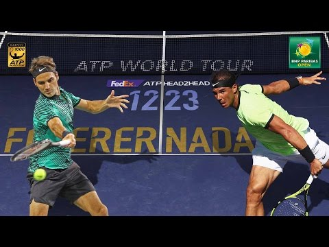 Federer vs. Nadal: Two Greats Meet At Indian Wells 2017