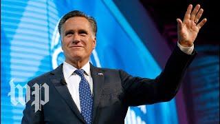Romney makes Senate run official