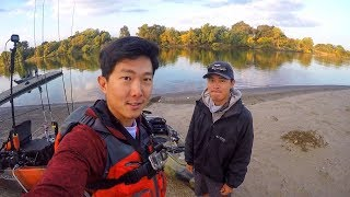 First time Salmon Fishing