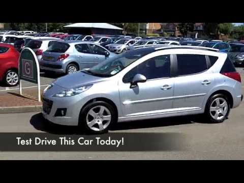 Peugeot 207 Sw Estate 2012 16 Vti Allure 5dr Auto Ky12xdz Youtube