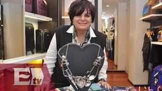 Delia González, una apasionada de la joyería artesanal/ Yazmín Jalil