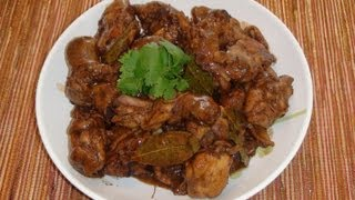 Pinoy Recipe - Chicken Adobo Recipe [stew Chicken With Soy Sauce]