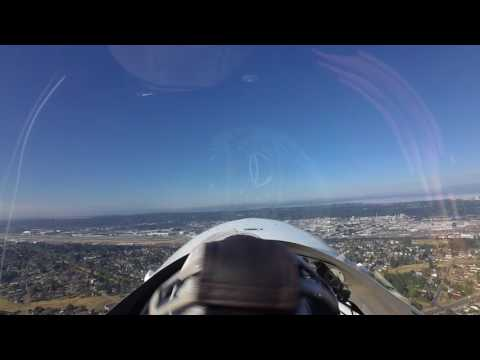 Boeing Field--VFR Arrival from the East