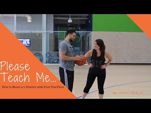 How to Shoot a 3-pointer with NBA Player Fred VanVleet