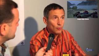 Olivier Grunewald, kawah Ijen le mystère des flammes bleues, par ABM TV