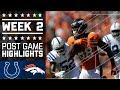 Colts vs. Broncos | NFL Week 2 Game Highlights