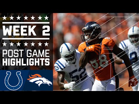 Colts vs. Broncos | NFL Week 2 Game Highlights