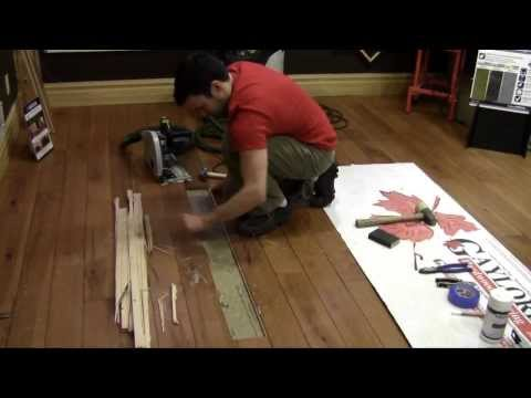Replacing a Hardwood Flooring Board