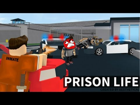 Roblox Prison Life, Jailbreak. (ft Mr I Hate Mt Job, I Work For Free) (and me)
