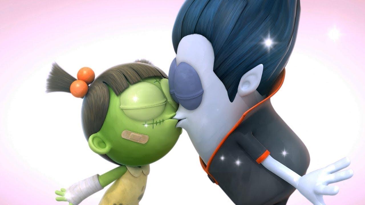 Spookiz | Sealed with a Kiss | Funny Cartoons For Kids | WildBrain Cartoons