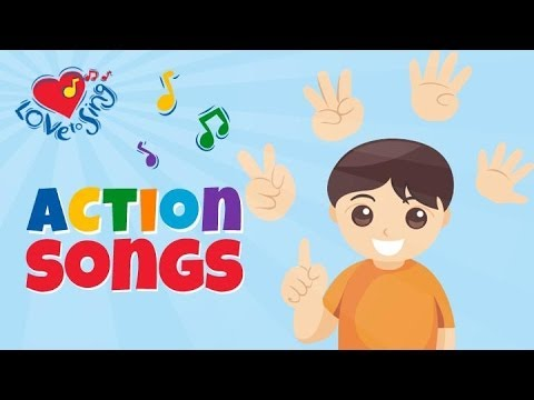 Ten Little Fingers  Number Song & Rhyme  Children Love to Sing