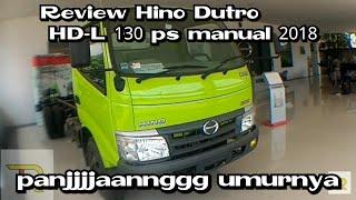 Review Hino Dutro manual 2018 HD-L 130ps