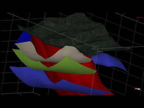 3D Geological Modelling of the Title HGR-10111