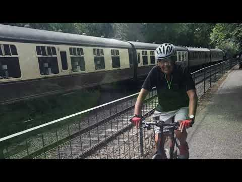 Cycle Bristol to Bath Railway Path from Bath and Two Tunnels Greenway. My Travels Neil Walker