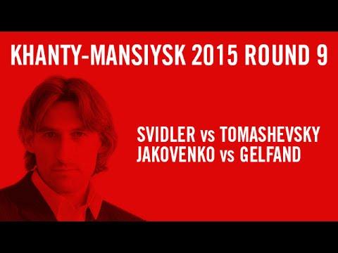 FIDE Grand Prix Khanty-Mansiysk 2015 Round 9 Highlights