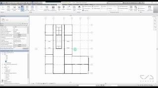 Revit tutorial PL - Lekcja 14.4 Odwrócony rzut sufitu [CADACH.PL]