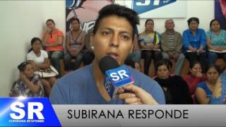 PROGRAMA SUBIRANA RESPONDE 16  08 2016