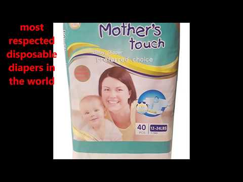 Mothers Touch Diapers Available in Kenya For The Very First Time