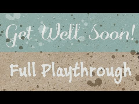 Get Well Soon (Free Horror Game, Full Playthrough)