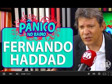 Para Haddad, Dilma não pode ser impedida pela alegação das pedaladas | Pânico