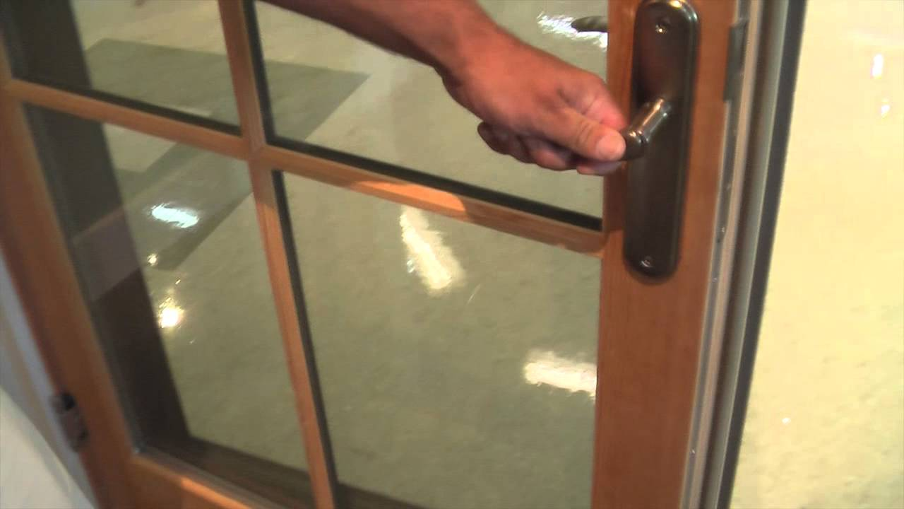 Brownell quick fix proper operation of mulit point for Marvin integrity storm doors