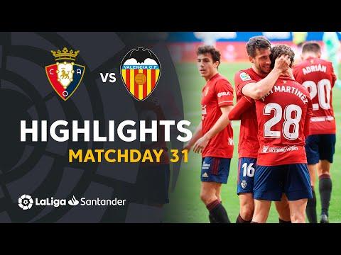 Osasuna Valencia Goals And Highlights