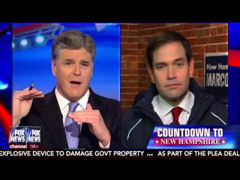 Marco Joins Hannity From The Campaign Trail In New Hampshire | Marco Rubio for President