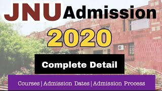 How to get Admission in Jnu 2020 || Jawaharlal Nehru University || CLUSTERcareer
