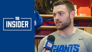 Kaden Smith on His Progression as a Rookie | New York Giants