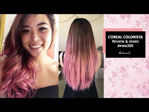 L Or 201 Al Colorista Pink Review Demo Washout Thatscarol