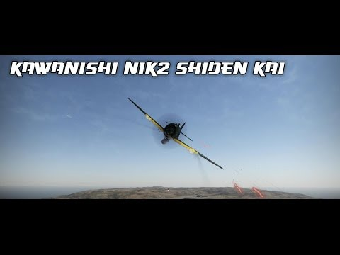 War Thunder - Kawanishi N1K2 Shiden Kai - Violet Lightning