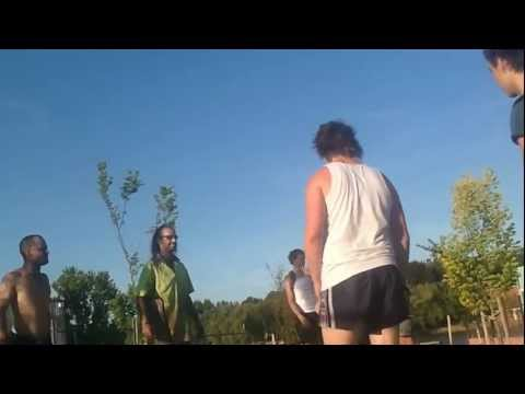 Original Skate Park Fight - Tradies Vs Skaters