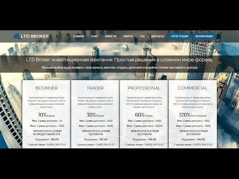 Обзор инвестиционного проекта Ltd Broker