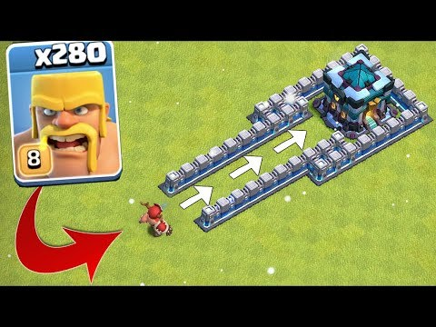 280 X Troops ATTACK The TH13!!!