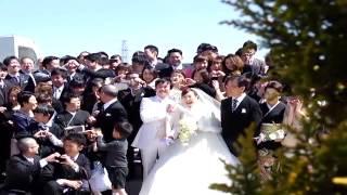 ゲストの方へ感謝を伝える結婚式