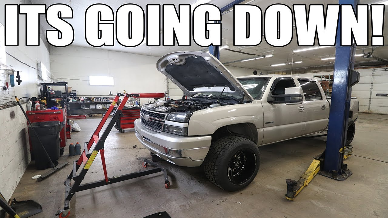 OVER HAULING THE LBZ DURAMAX!