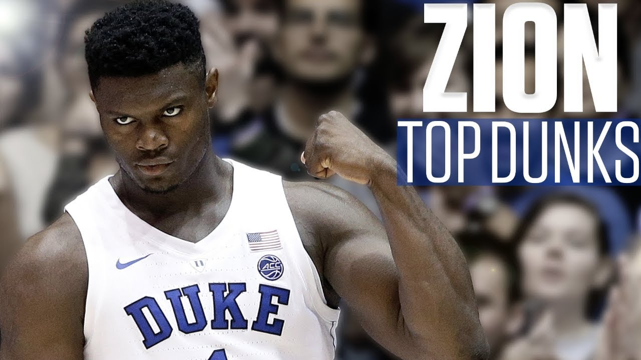Zion Williamson's top 10 dunks | College Basketball Highlights