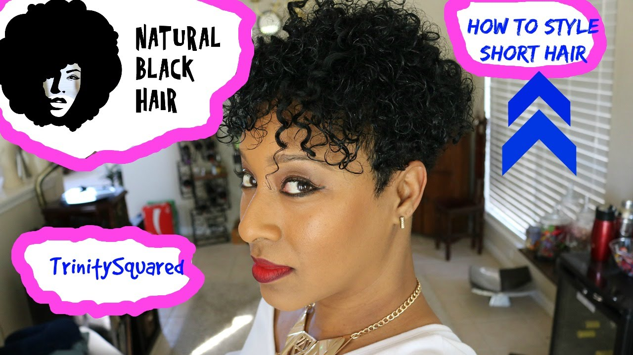 How To Natural Hair 3c 4a Tapered Hair Styling Product Update Youtube