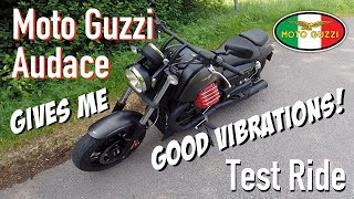 Moto Guzzi Audace Carbon First Ride & Impressions
